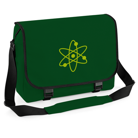 Atom Science Messenger Bag, Cycling Courier Laptop University College School Bag Satchel