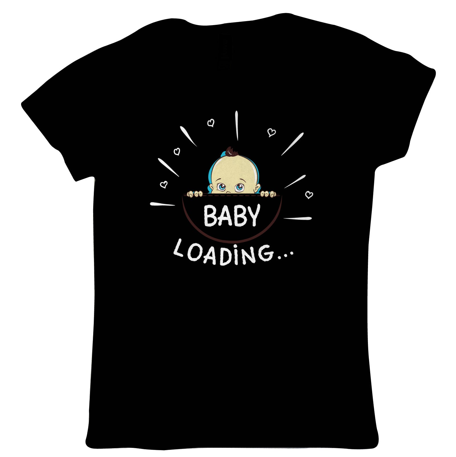Baby Loading, Mother to Be Womens Funny T Shirt | Funny Novelty Perfect Gift Present For Mum Mom Mama Ladies | Mothers Day Birthday Christmas from Daughter Son Grandson