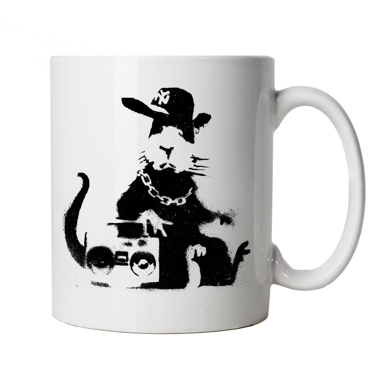 Banksy Hip Hop Rat, Mug