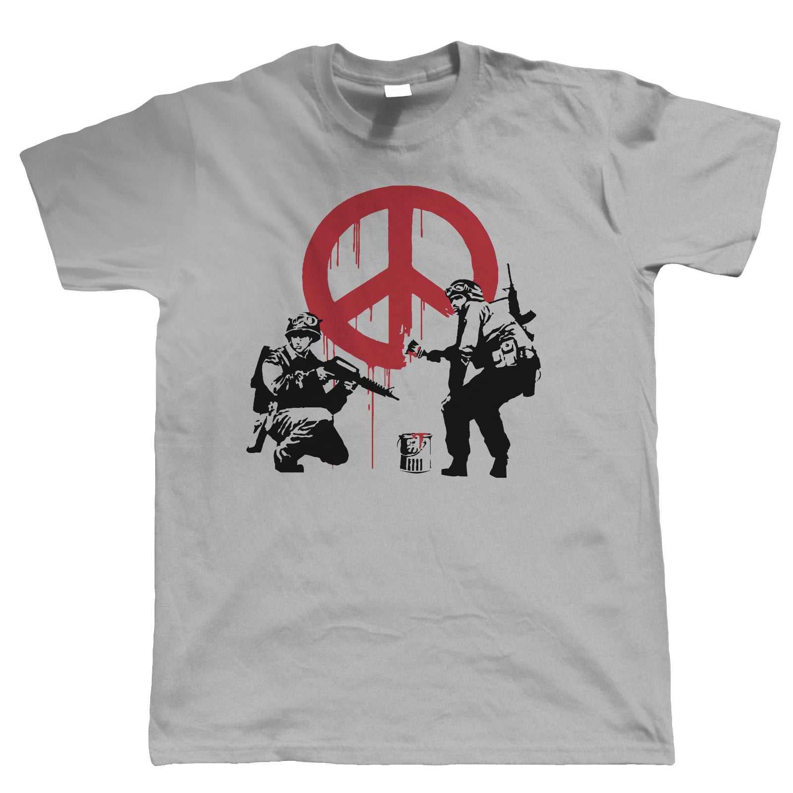 Peace Soldiers, Mens T Shirt