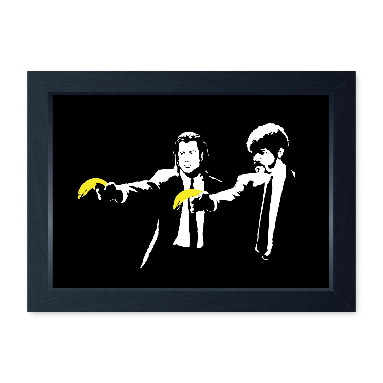 Banksy Vince and Jules, Quality Framed Print - Home Decor Kitchen Bathroom Man Cave Wall Art