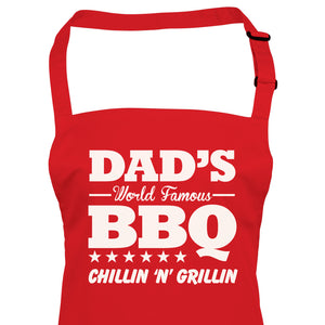Vectorbomb, Dads World Famous BBQ, Apron