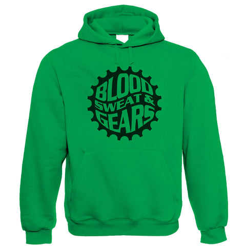 Blood Sweat & Gears, Mountain Bike Hoodie