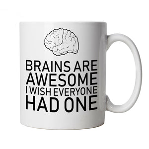 Brains Are Awesome, Mug
