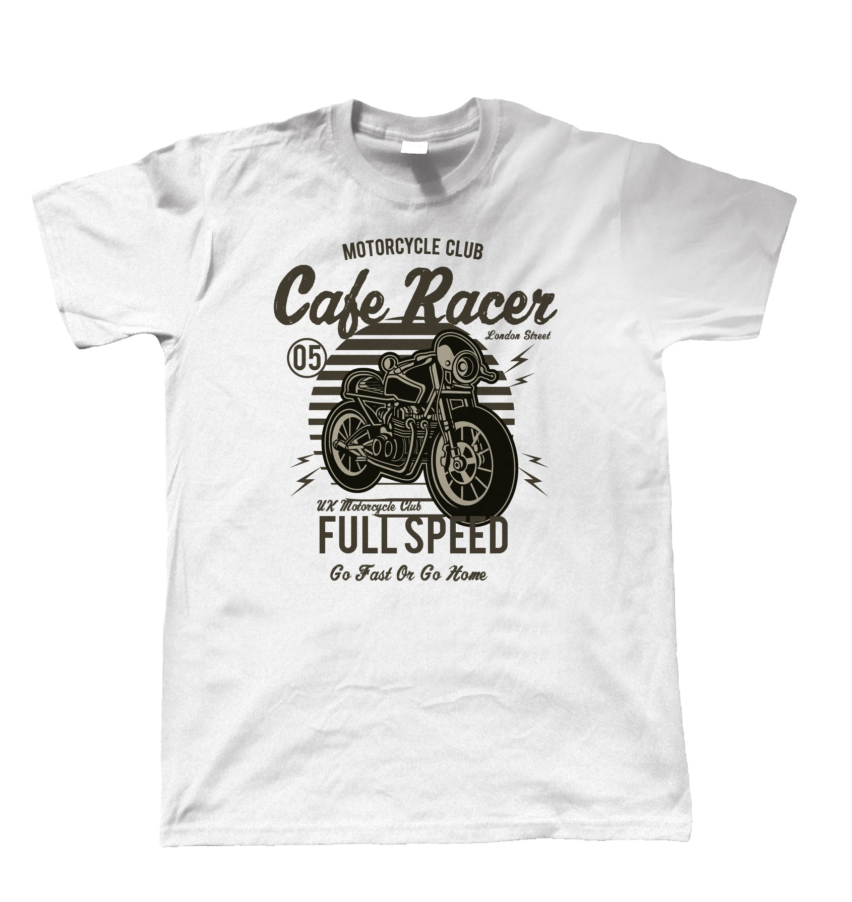 Cafe Racer Club, Mens T Shirt