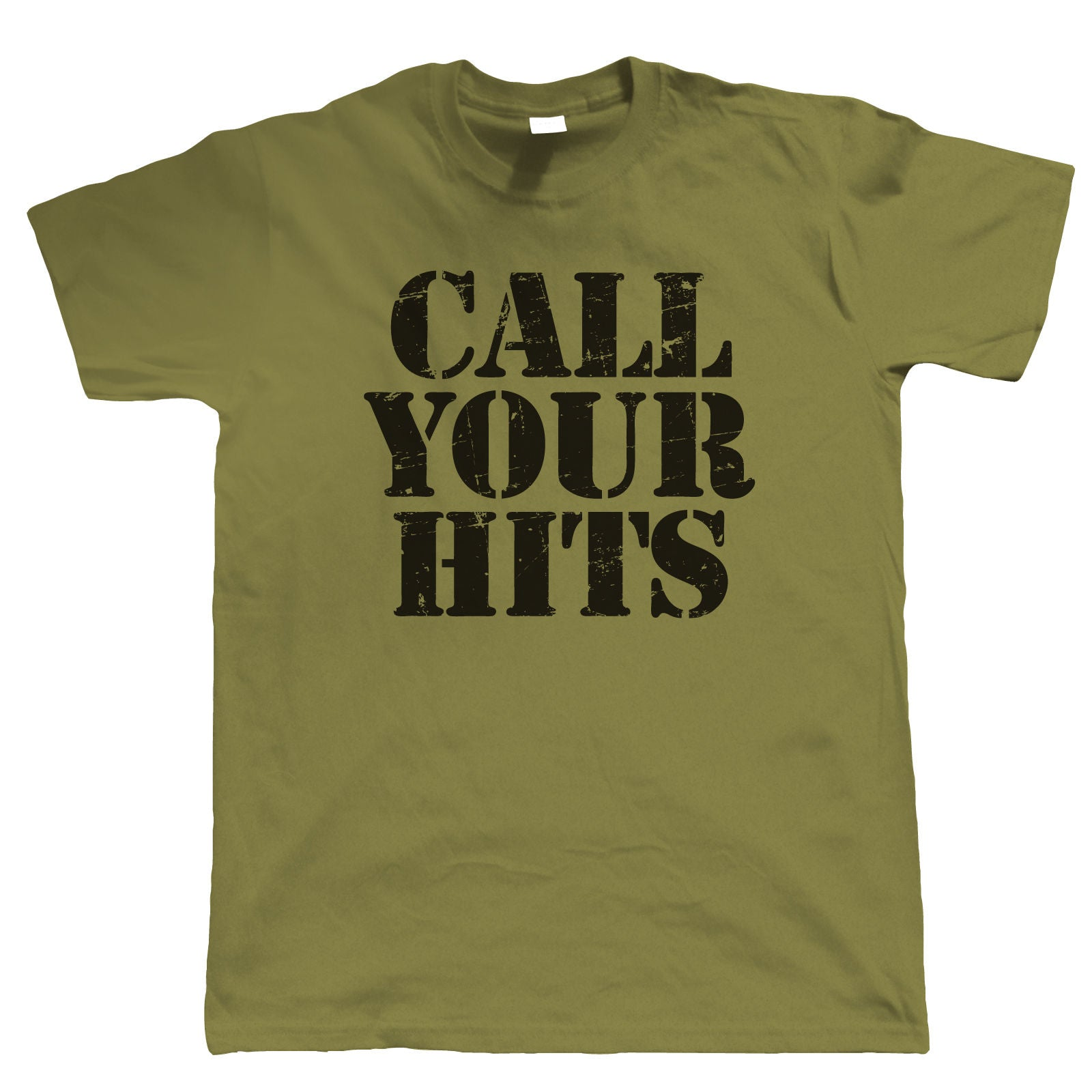 Call Your Hits, Mens Funny Tshirt
