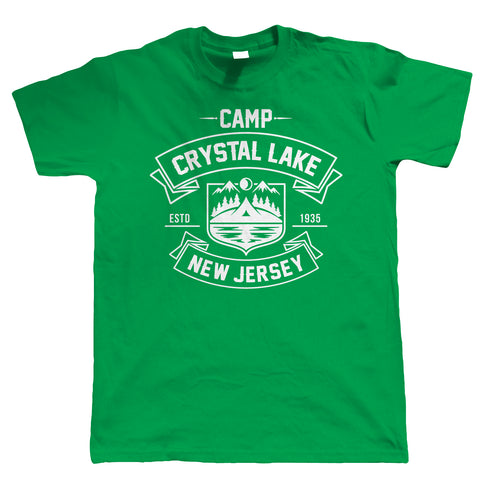 Camp Crystal Lake, Mens Funny T-Shirt