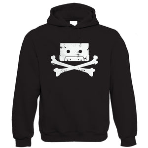 Cassette Pirate, Funny Hoodie