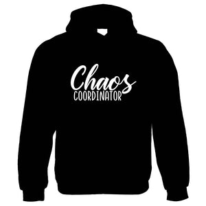 Chaos Co-ordinator, Womens Funny Hoodie | Funny Novelty Perfect Gift Present For Mum Mom Mama Ladies | Mothers Day Birthday Christmas from Daughter Son Grandson