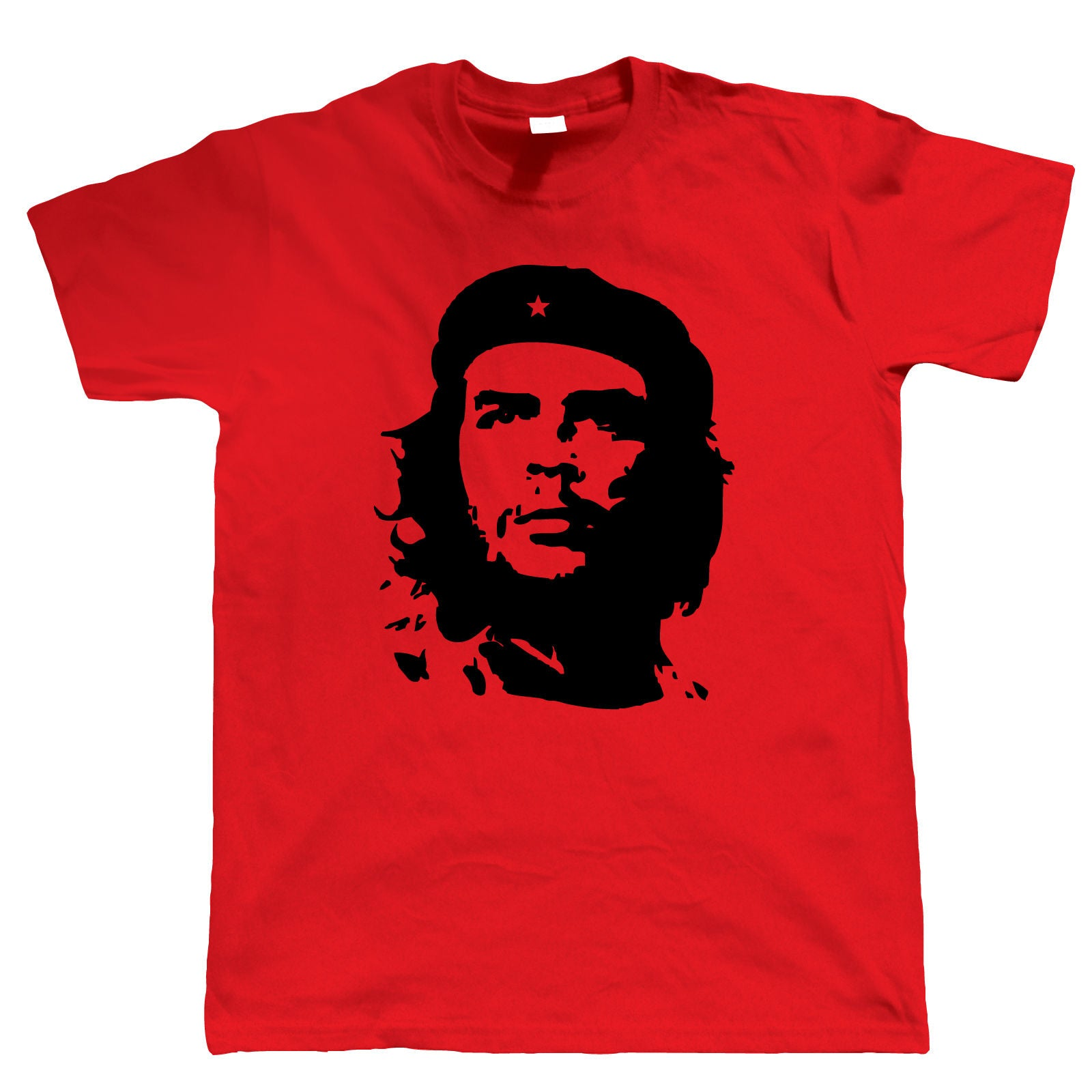 Che Guevara Retro Political Mens T Shirt | Che Guevara Argentine Revolution Cuban Rebellion Icon | Motorcycle Diaries Castro Communist Guerilla Ernesto Mural | Pop Culture Birthday Gift Him Dad