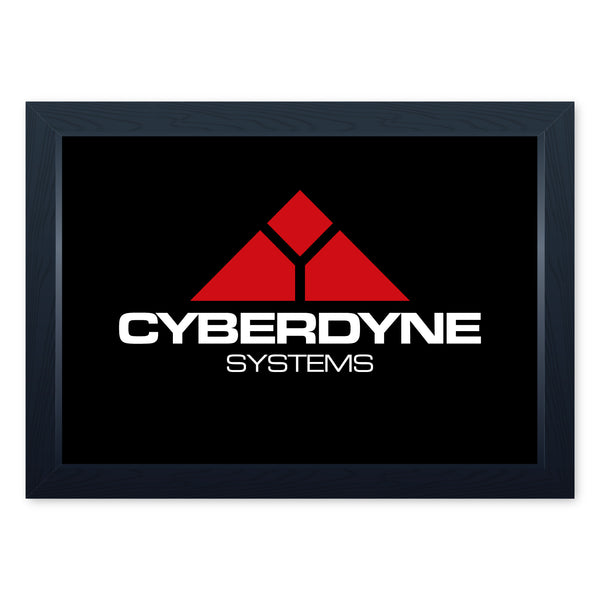Cyberdyne Systems, Framed Or Frameless Poster Print - Terminator Movie Inspired