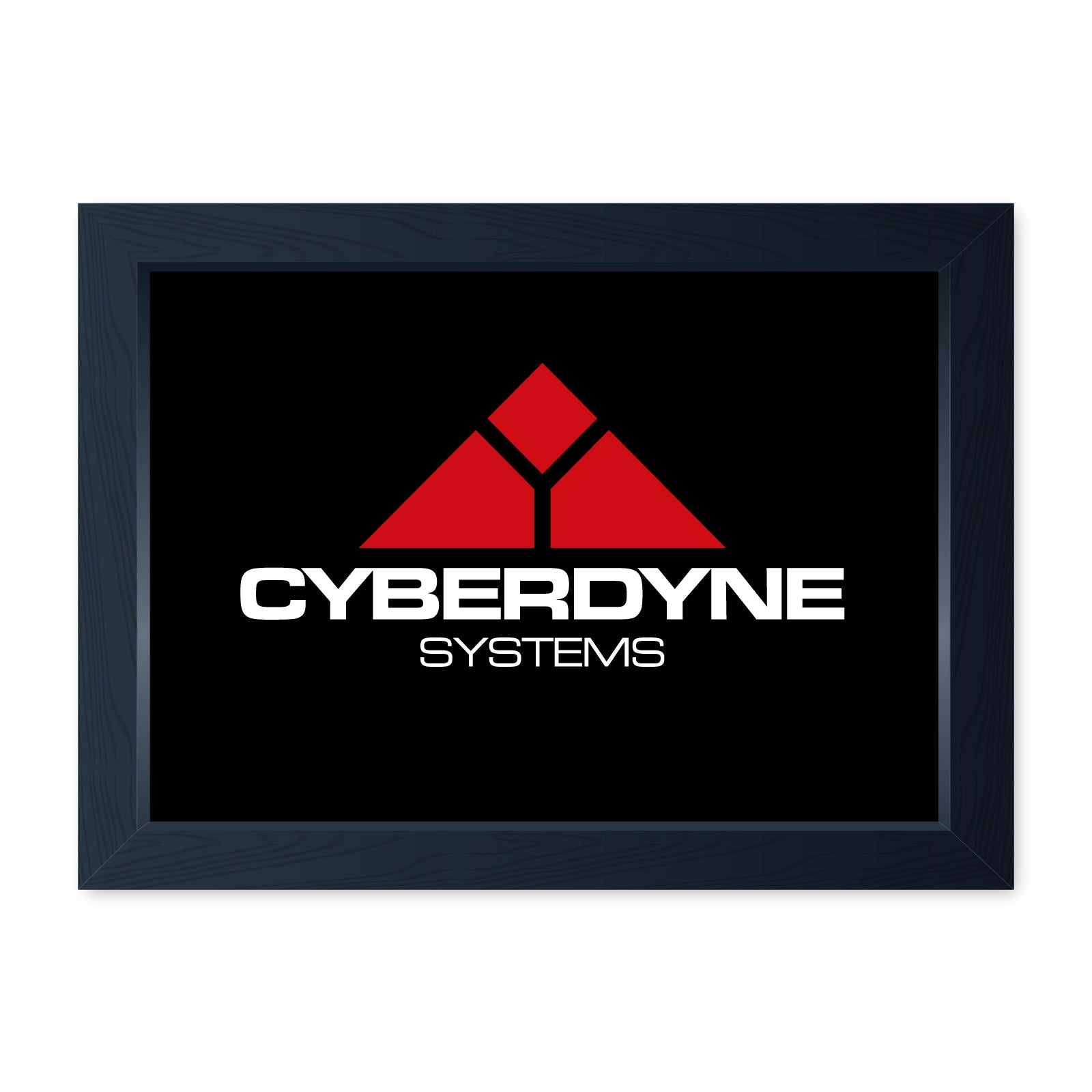 Cyberdyne Systems, Movie Inspired Quality Framed Print - Cinema Room Man Cave Art Wall Art