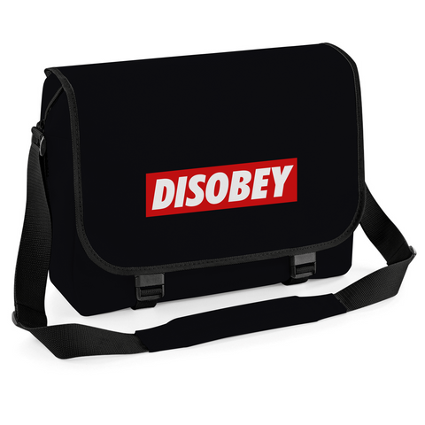 Disobey Messenger Bag, Cycling Courier Laptop University College School Bag Satchel