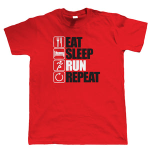 Eat Sleep Run Repeat T Shirt