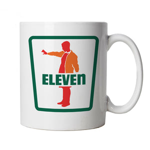 Eleven Mug | Action Adventure Horror Sci-Fi Series Binge Halloween | Upside Down DND 80s Small Town Summer | TV Inspired Cup Gift