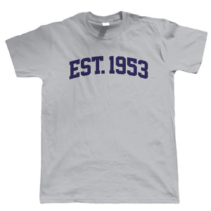 Established 1953 Mens T Shirt