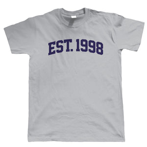 Established 1998 Mens T Shirt