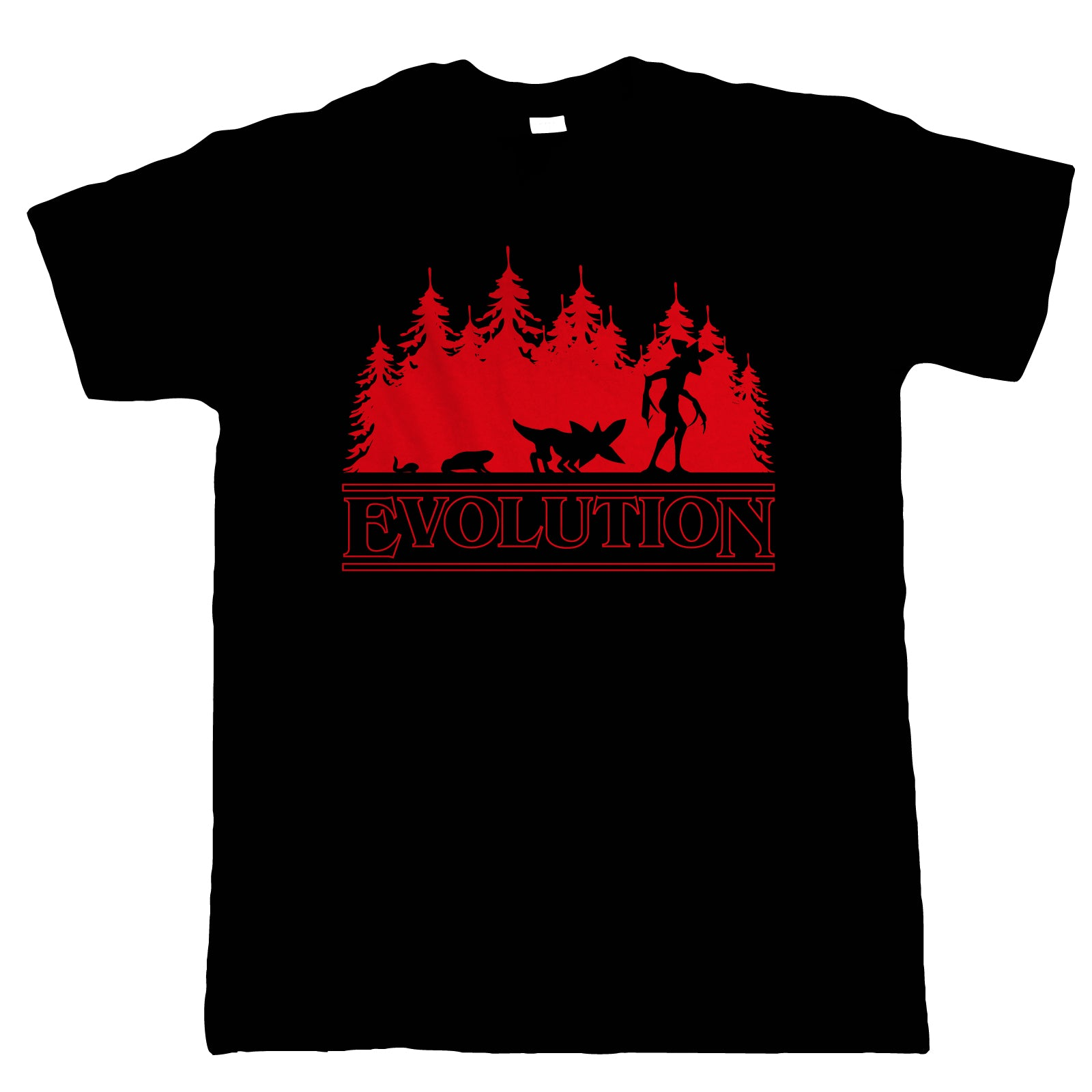 Evolution Of The Demogorgon Mens T-Shirt | Action Adventure Horror Sci-Fi Series Binge Halloween Gaming | Upside Down DND 80s Small Town Summer | TV Inspired Gift Him