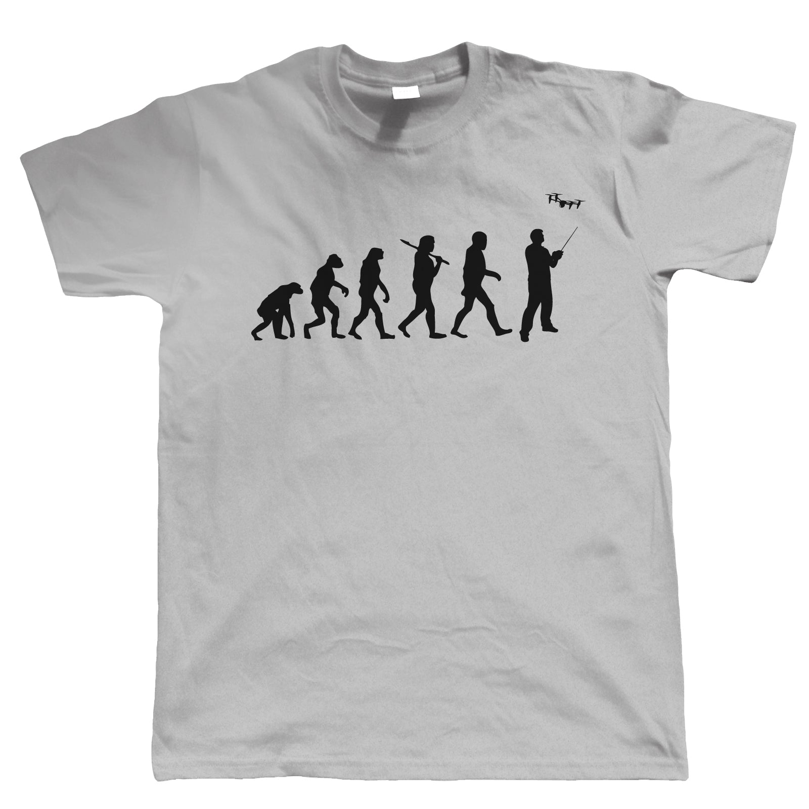 Evolution Of Drone Pilots, Mens Funny T Shirt