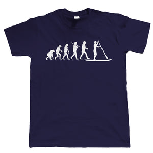 Evolution Of Paddle Boarding, Mens T Shirt