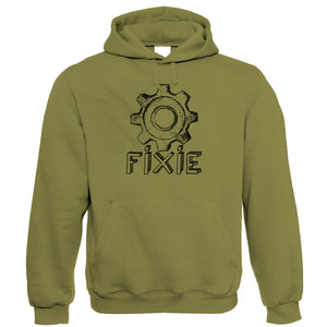 Fixie, Mens Cycling Hoodie
