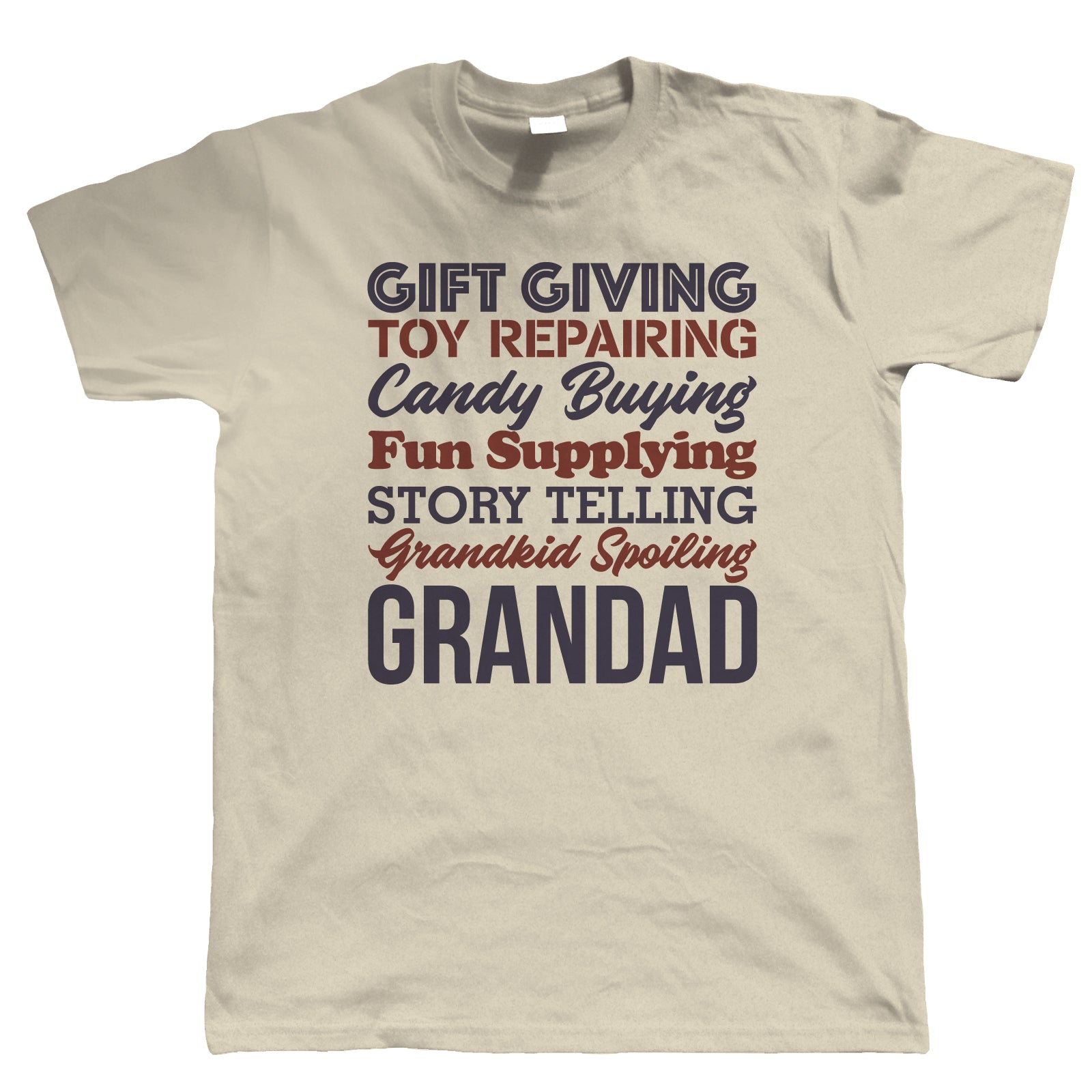 Fun Supplying Grandad Mens Funny T Shirt