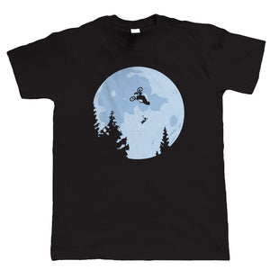 BMX ET Moon, Mens T Shirt