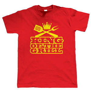 BBQ King of the Grill, Mens Funny Tshirt