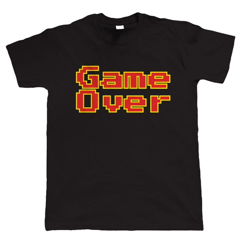 Game Over, Funny Retro Video Game Tshirt