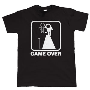 Game Over Wedding, Funny Stag Party Tshirt