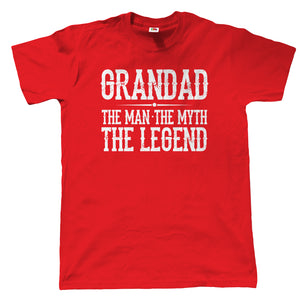 Grandad The Man Myth Legend T Shirt