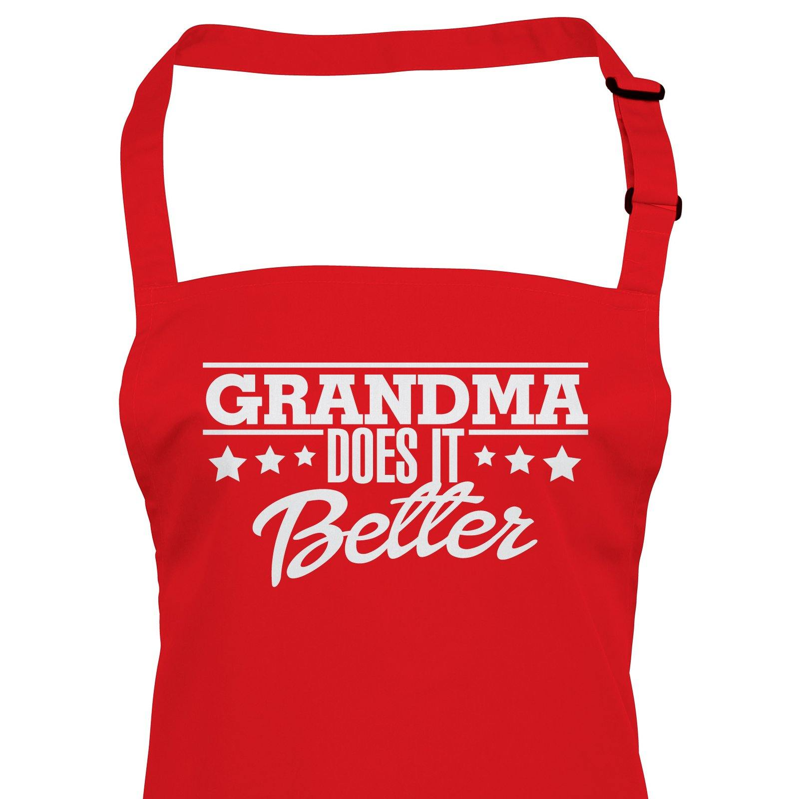 Grandma Does It Better, Apron