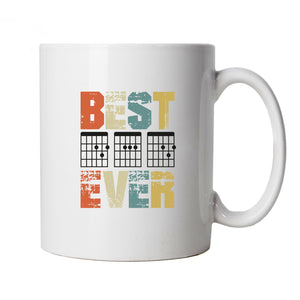 Guitar DAD, Mug | Best Dad, Guitar Hero Fathers Day, Best DAD Ever | Gift Him Dad Her Mum