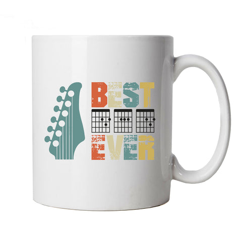 Guitar DAD, Mug | Best Dad, Guitar Hero Fathers Day | Gift Him Dad Her Mum