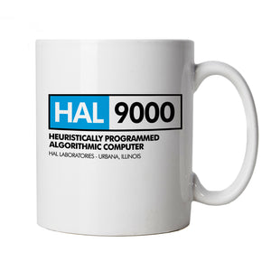 Hal 9000 Movie Inspired, Mug | Science Fiction Aliens Space Monolith Star Child | Hal 9000 Stanley Kubric Arthur C Clarke Sci-Fi | Sci-Fi TV & Movie Cup Gift