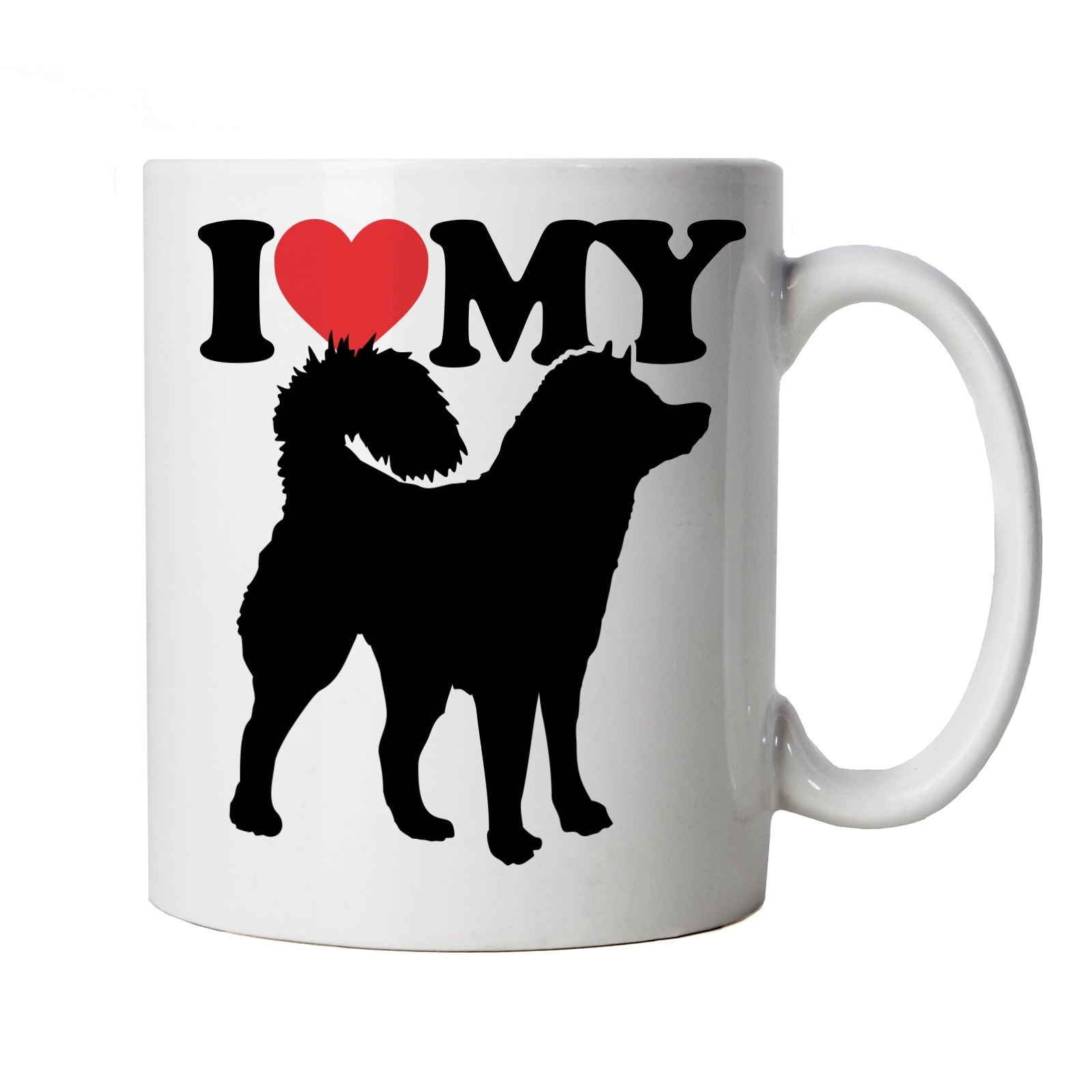 I Love My Alaskan Malamute Mug | Dog Gift Fur Baby Lover Owner Mans Best Friend | Crufts Dog Show Kennel Club Pedigree Breed Puppy | Animals Cup Gift