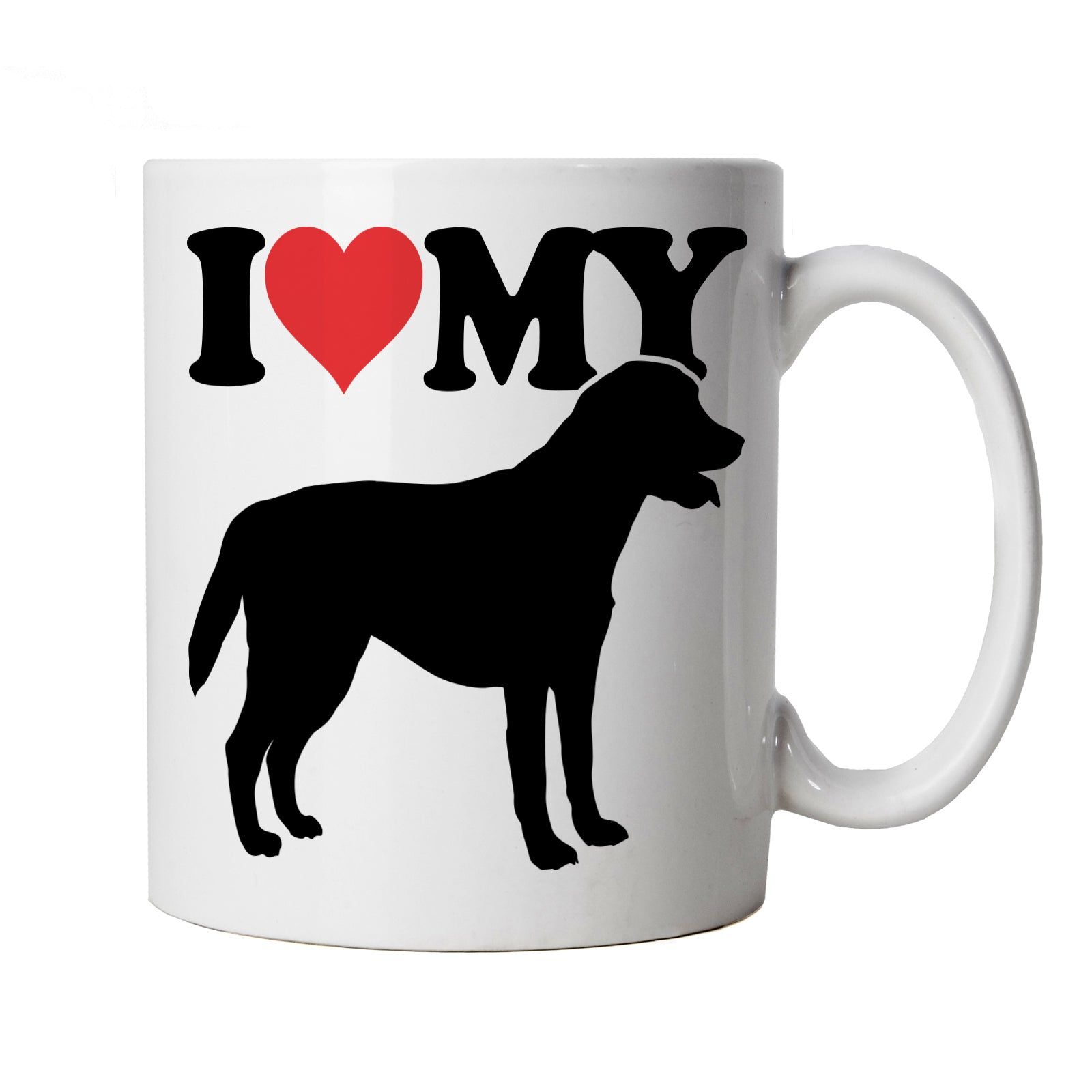 I Love My Labrador Mug | Dog Gift Fur Baby Lover Owner Mans Best Friend | Crufts Dog Show Kennel Club Pedigree Breed Puppy | Dogs Cup Gift