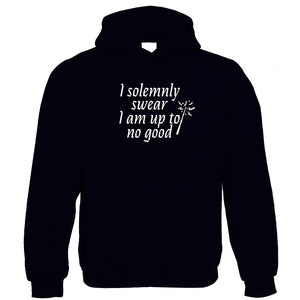 I Solemnly Swear I Am Up To No Good Hoodie - Movie Mischief Managed Potter Weasley Granger Map Wand Magic | Gift Him Dad Her Mum Son Daughter Girlfriend Boyfriend Wife Husband
