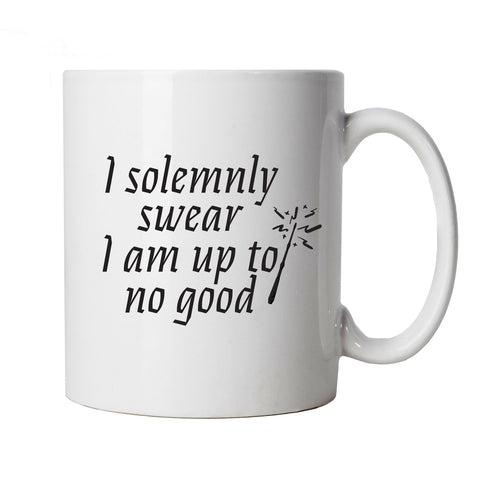 I Solemnly Swear I Am Up To No Good Mug Cup Gift - Movie Mischief Managed Potter Weasley Granger Map Wand Magic | Gift Him Dad Her Mum Son Daughter Girlfriend Boyfriend Wife Husband