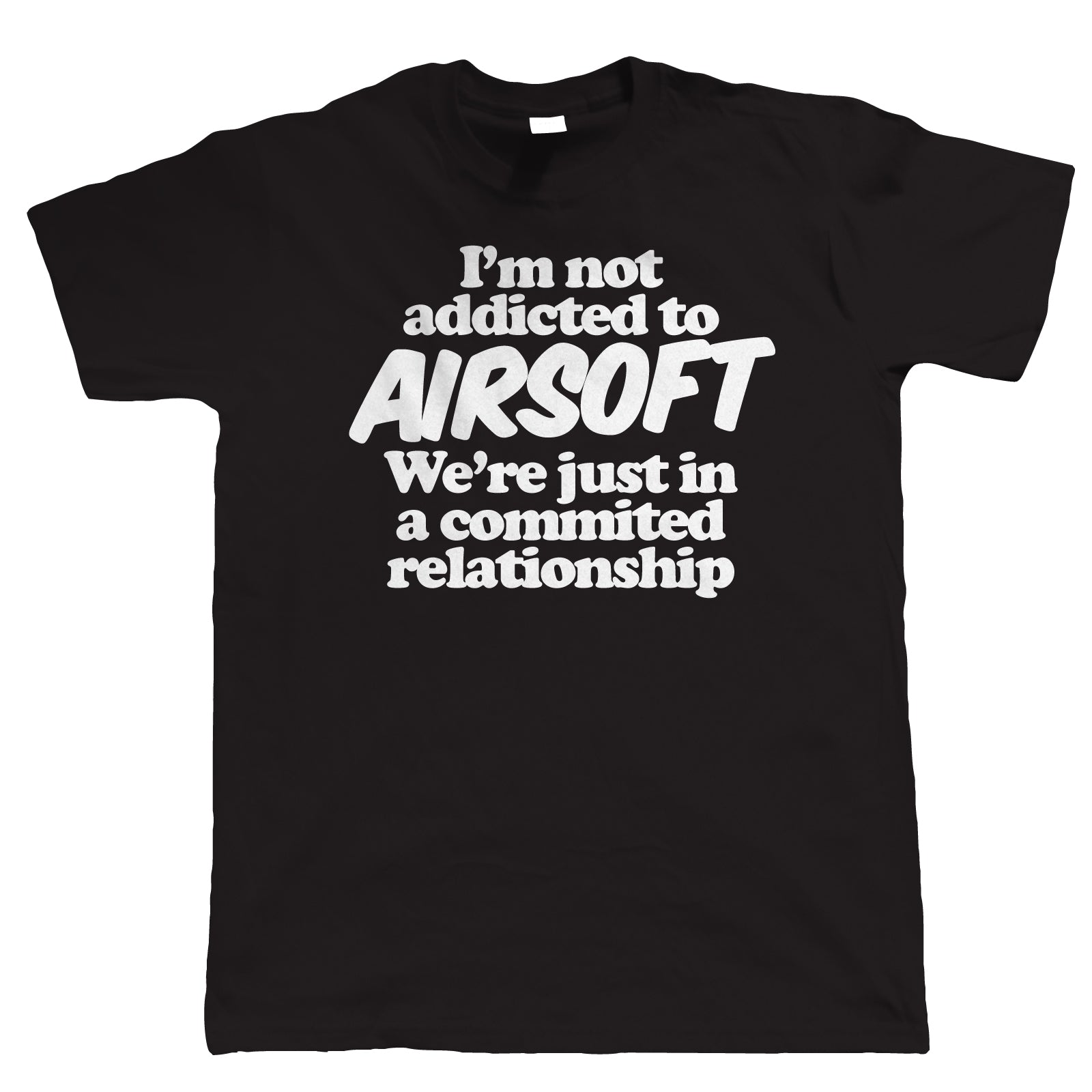 I'm Not Addicted To Airsoft, Mens Funny T-Shirt