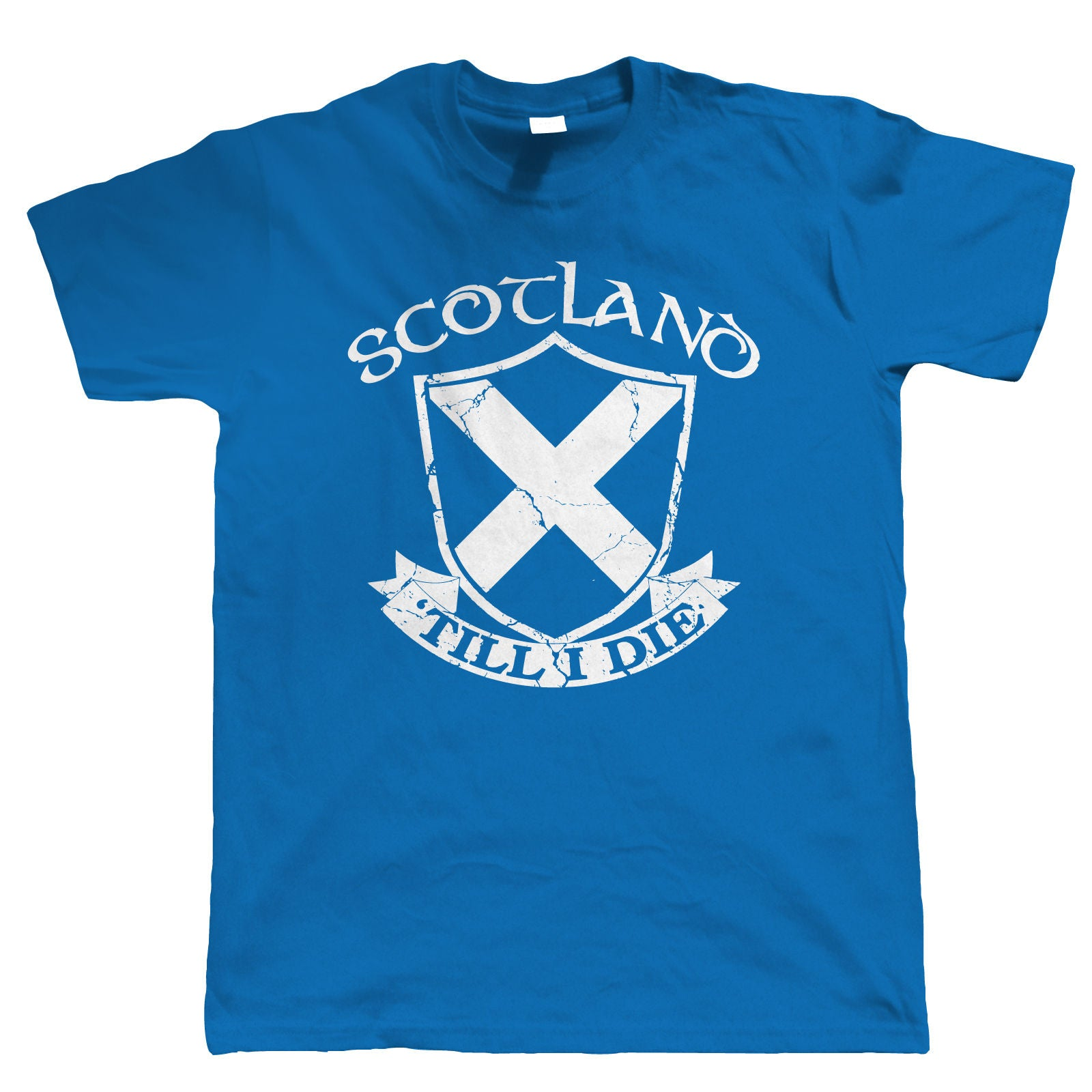 Scotland 'Till I Die, Mens Patriotic T Shirt