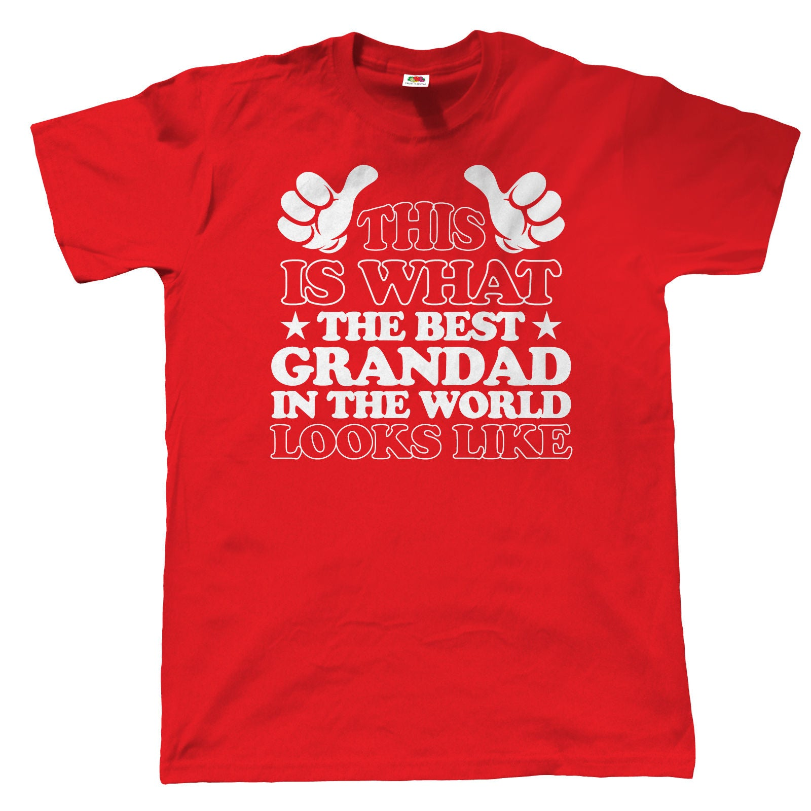 What The Best Grandad In The World Looks Like, Mens T Shirt