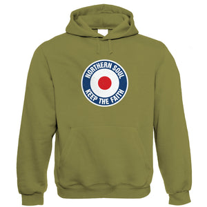 Keep The Faith MOD Target, Hoodie