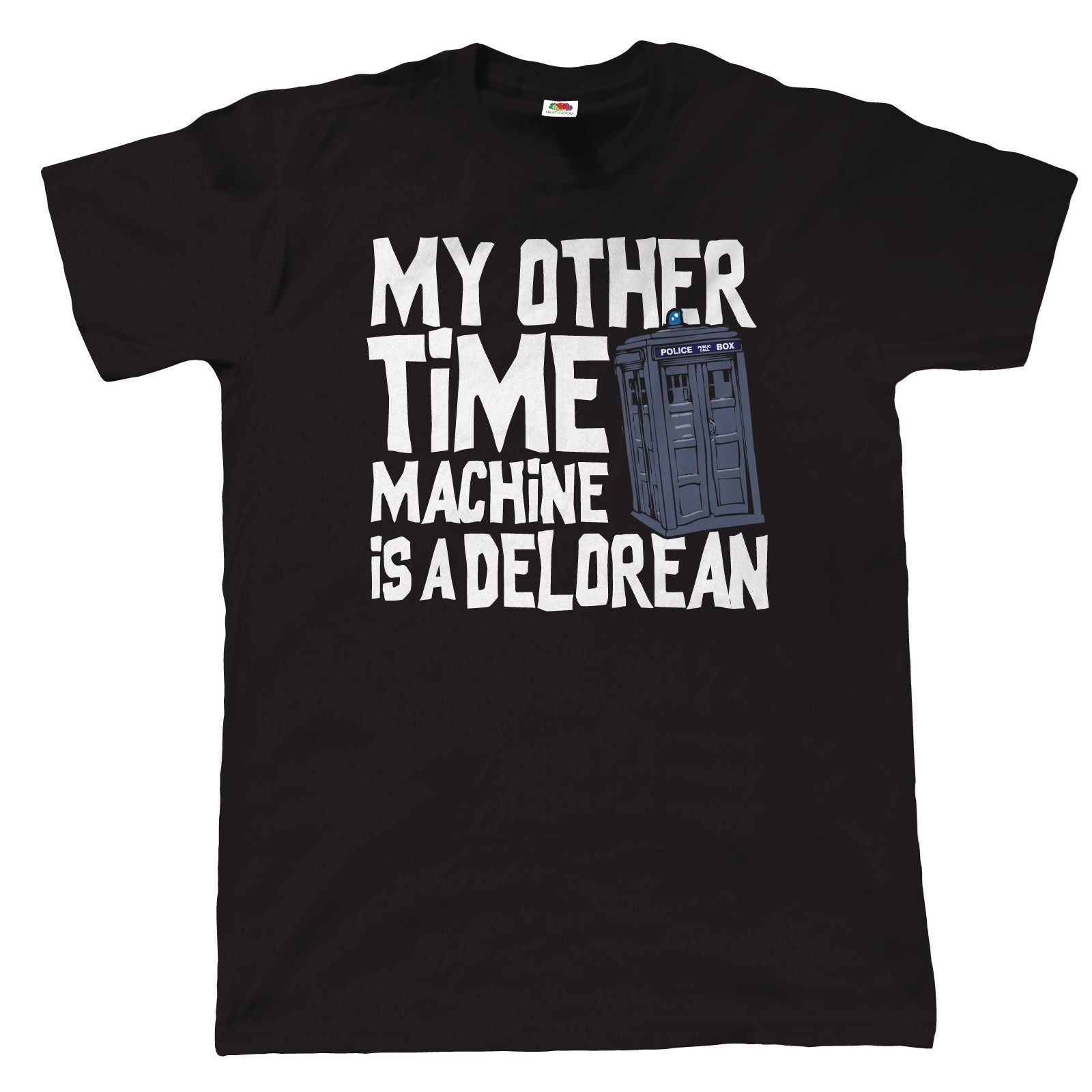 My Other Time Machine Is A Delorean, Mens Funny Sci-Fi T-Shirt