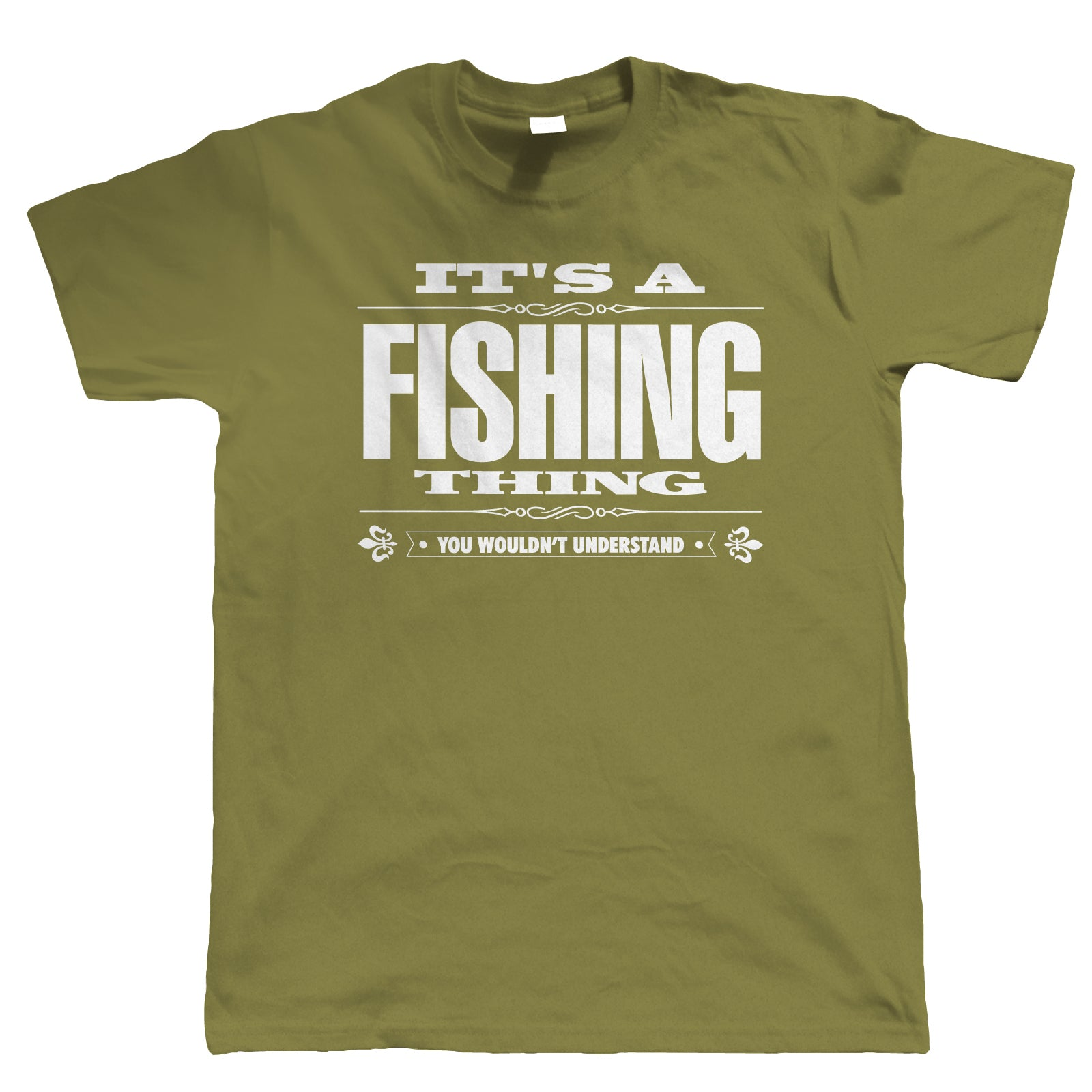 It's A Fishing Thing, Mens Funny T Shirt | Coarse Carp Sea Match Fly Specimen Tackle Fishermen Clothing Angling Angler | Cool Birthday Christmas Gift Present Him Dad Husband Son