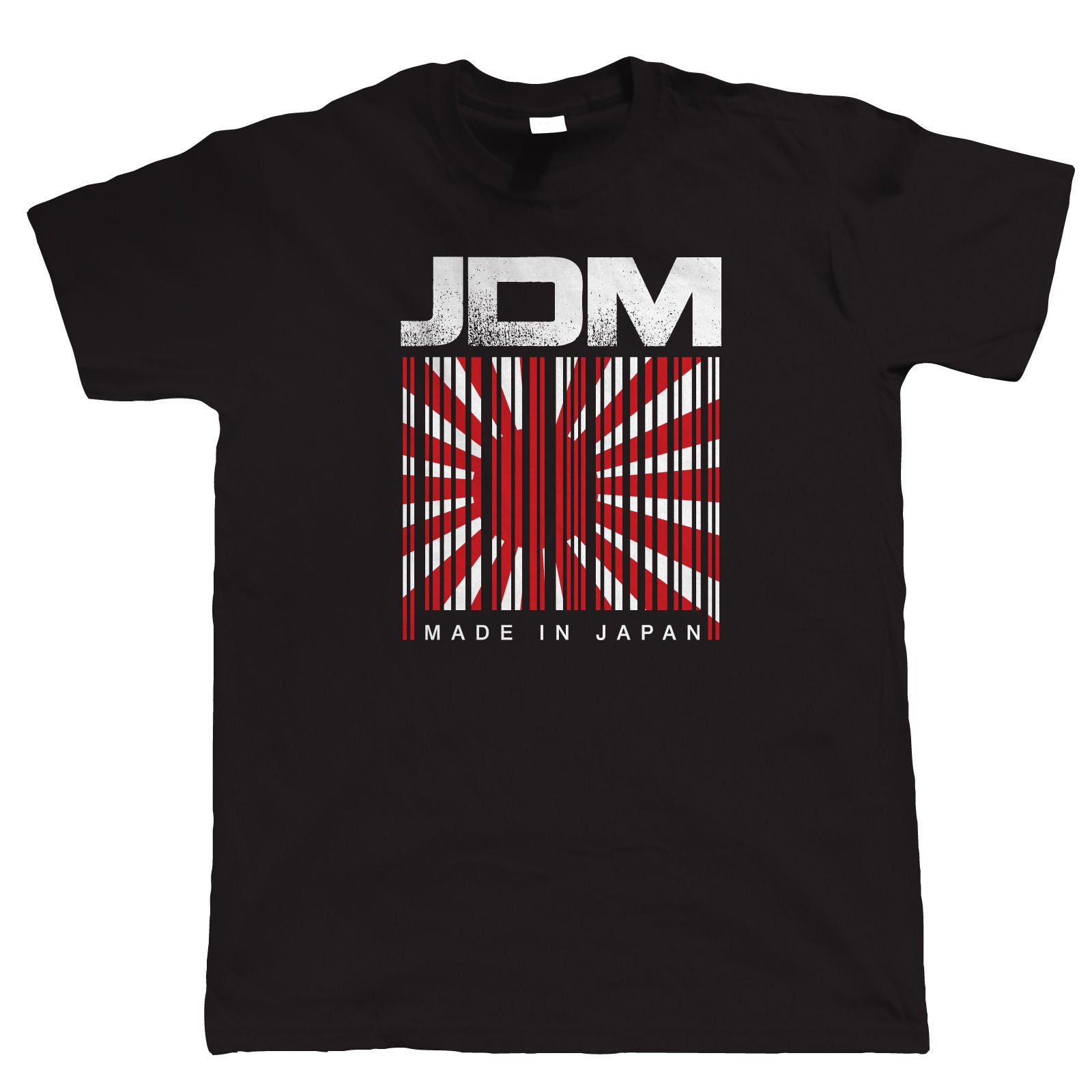 JDM Barcode, Mens Japanese Car TShirt