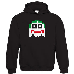 Joker 8 Bit, Mens Movie Inspired Hoodie