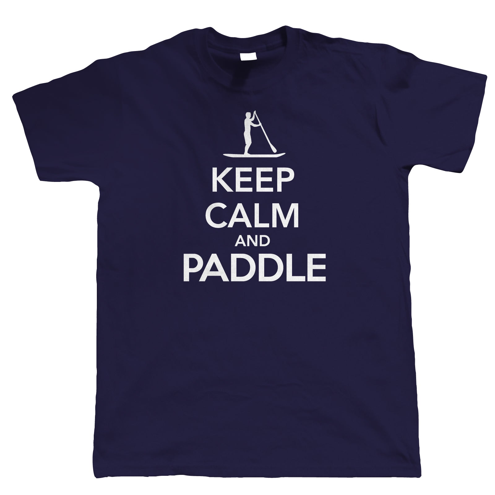Keep Calm & Paddle, Mens T Shirt