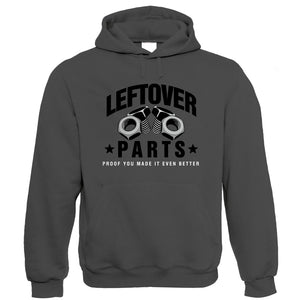 Leftover Parts, Mens Funny Car Hoodie