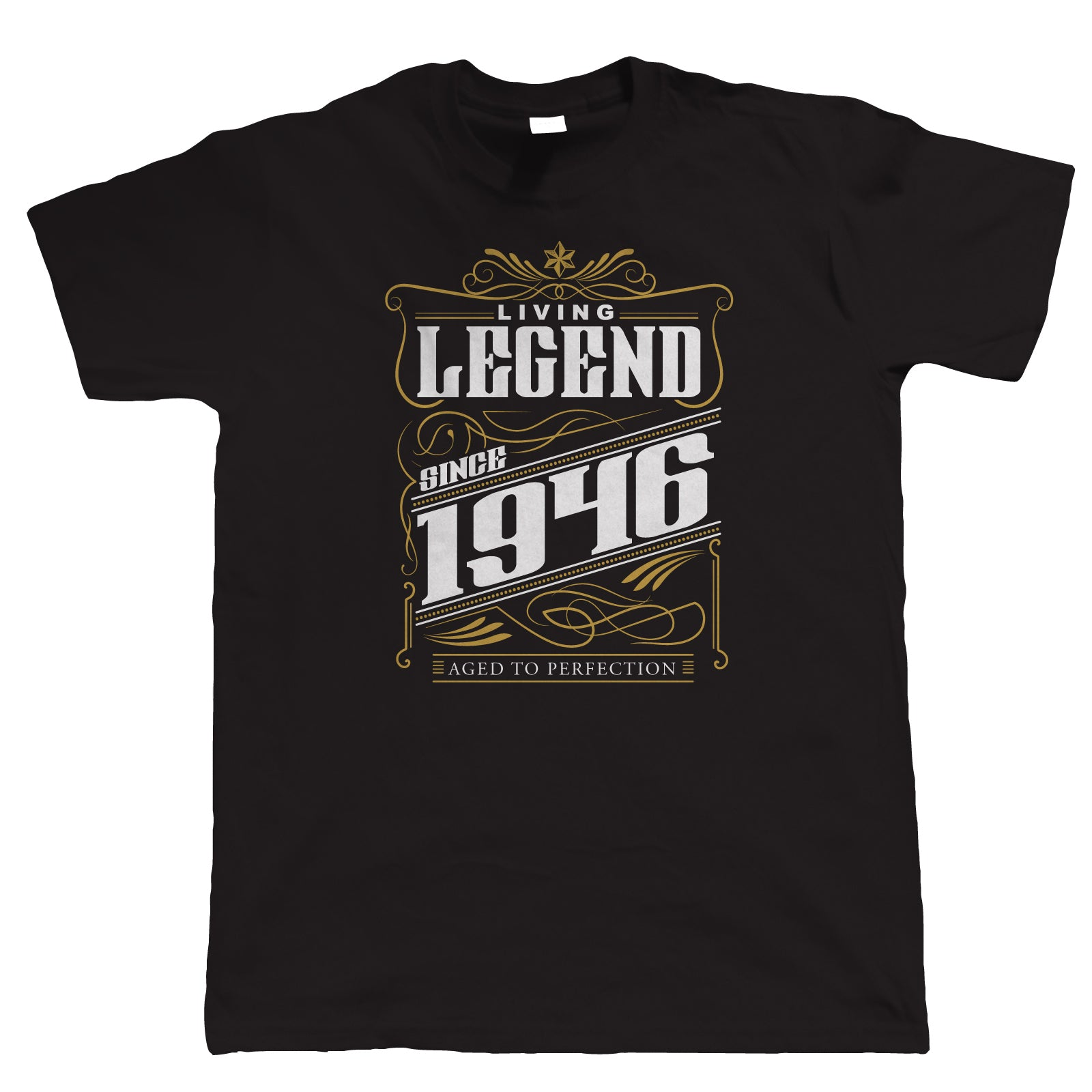 Legend Since 1946 Mens Funny T Shirt